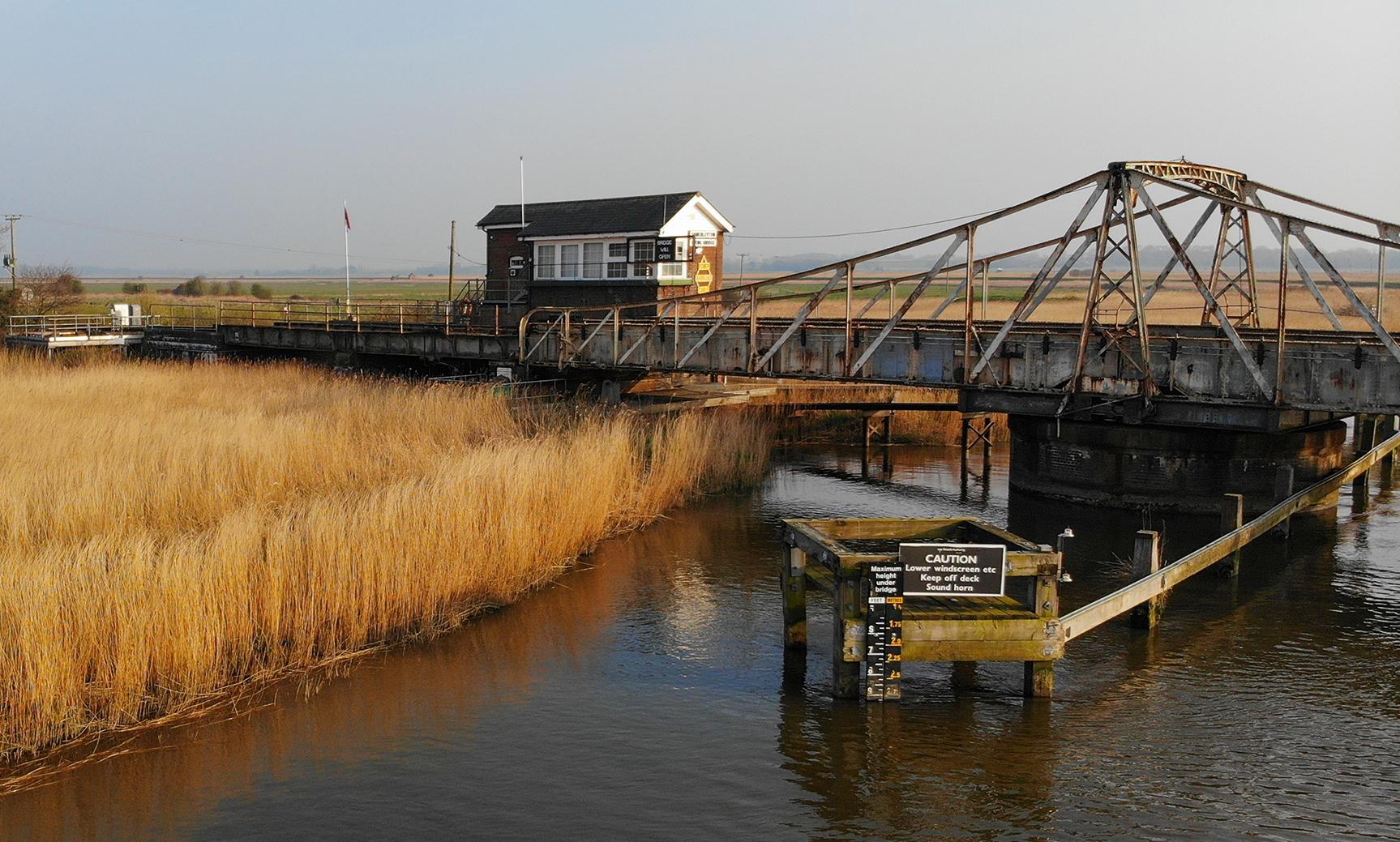 The bridge at Somerleyton
