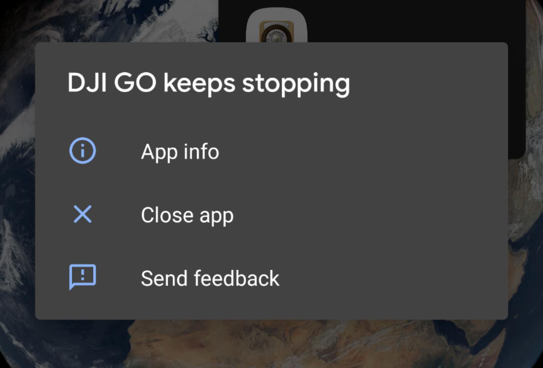 DJI GO & DJI GO 4 on Android Q   DJI FORUM
