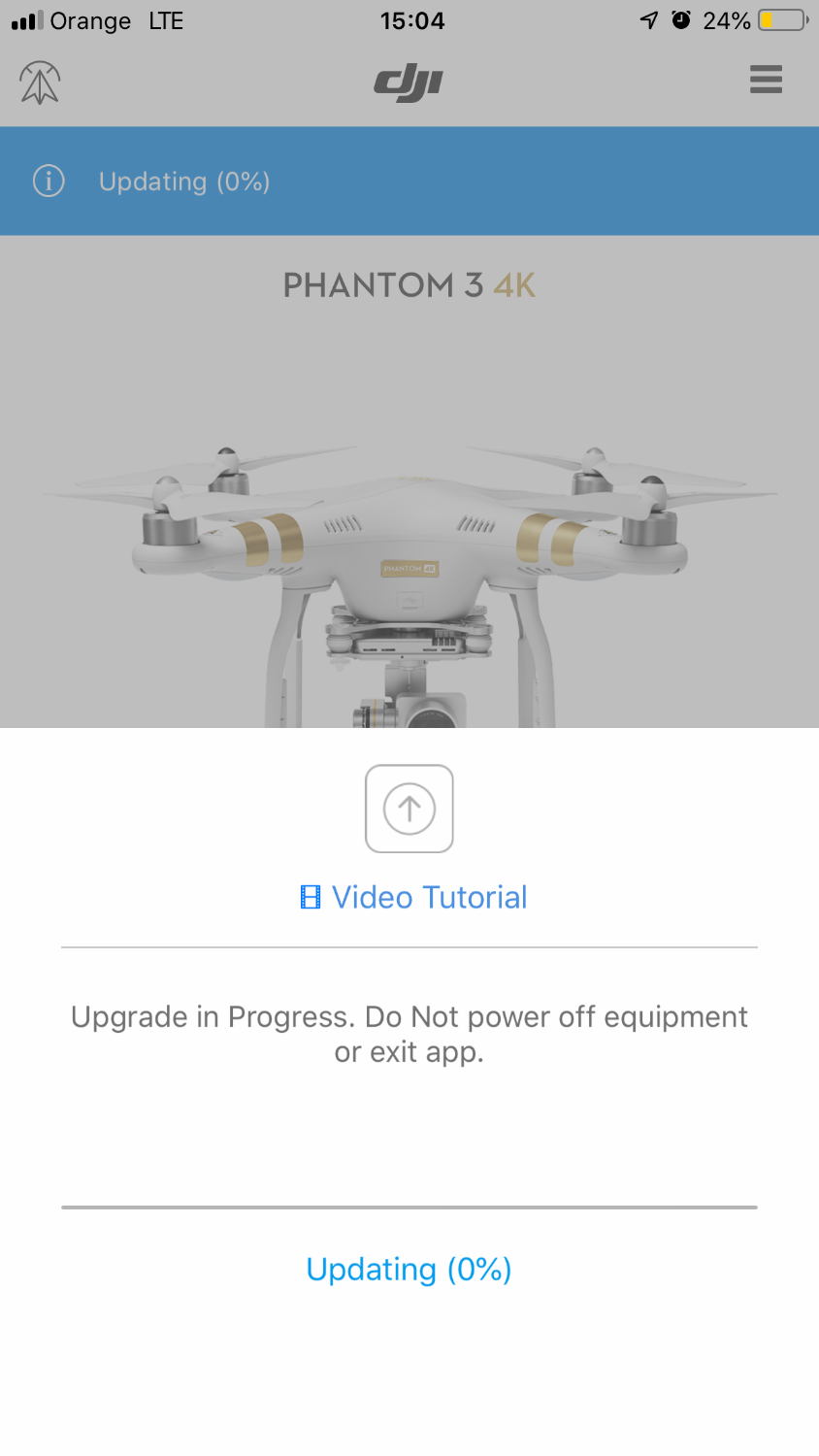 NO IMAGE TRANSMISSION SIGNAL (solved) | DJI FORUM