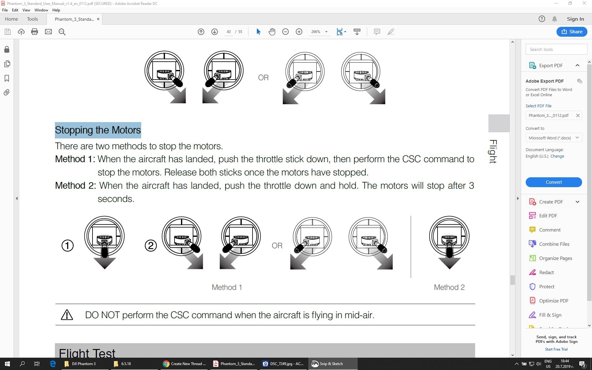 screenshot of P3STD user manual