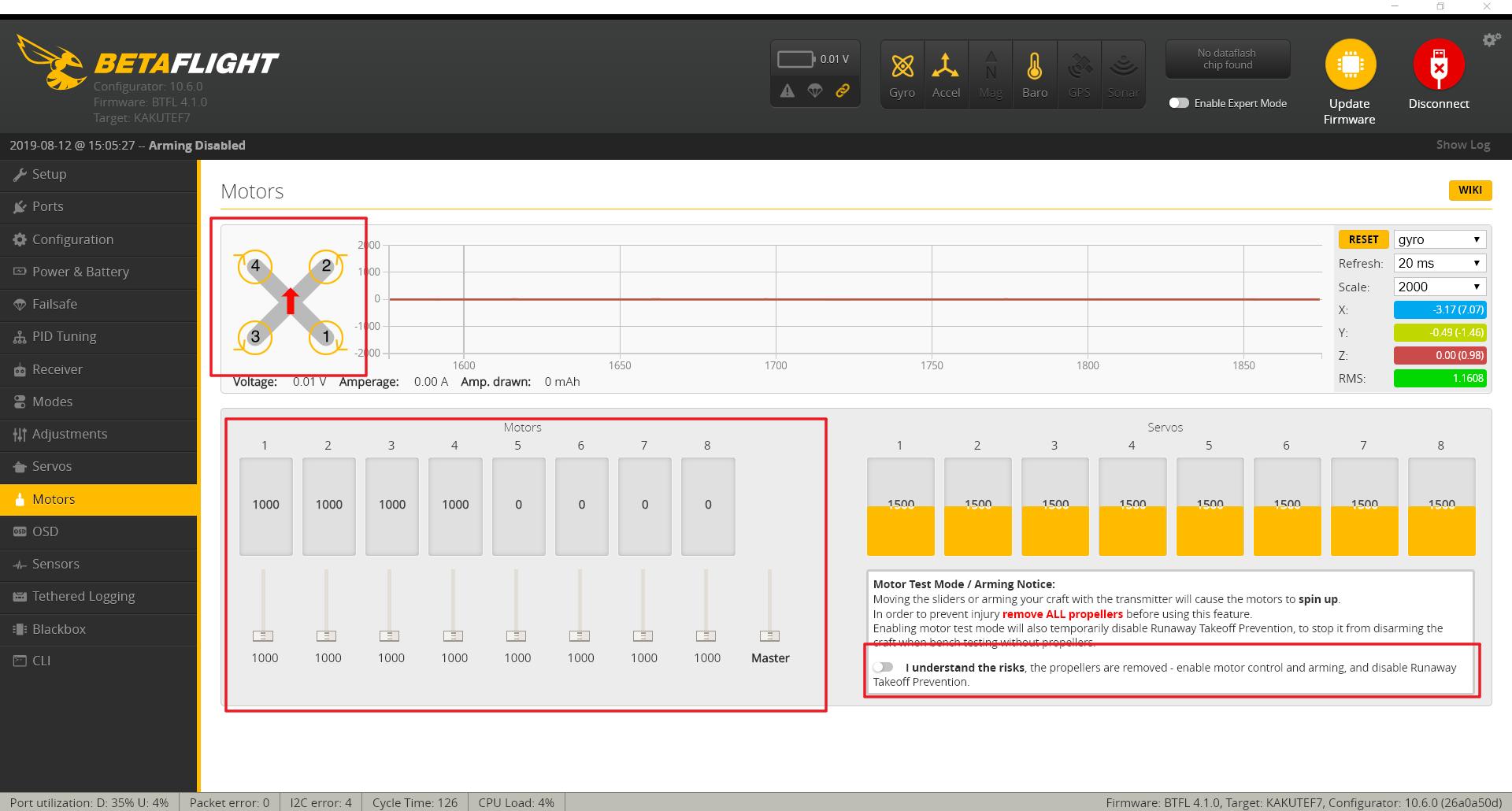 How to Set the Betaflight Flight Controller Parameters | DJI