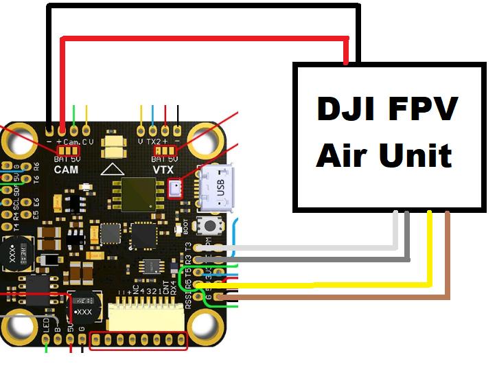 tmotor f4 fc no osd dji forum naza lite wiring diagram how to wire dji naza m 1 2 & lite(with