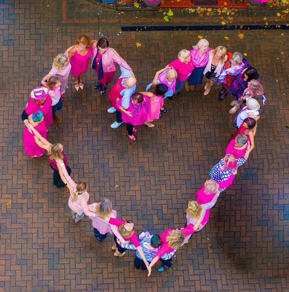Pink's ladies heart.