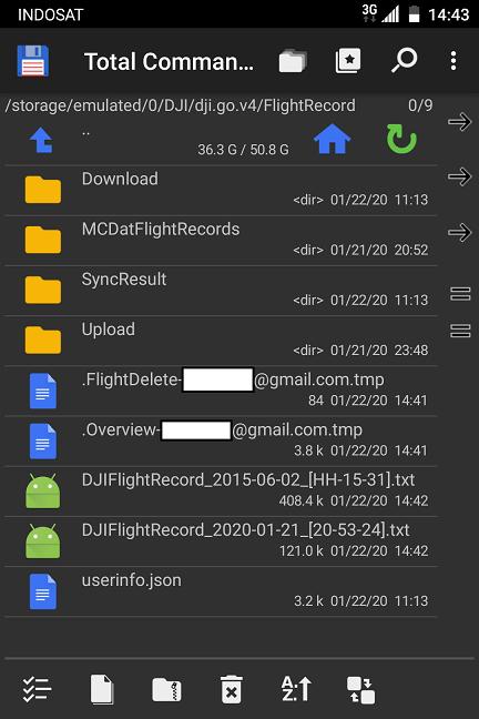 Flightrecords folder
