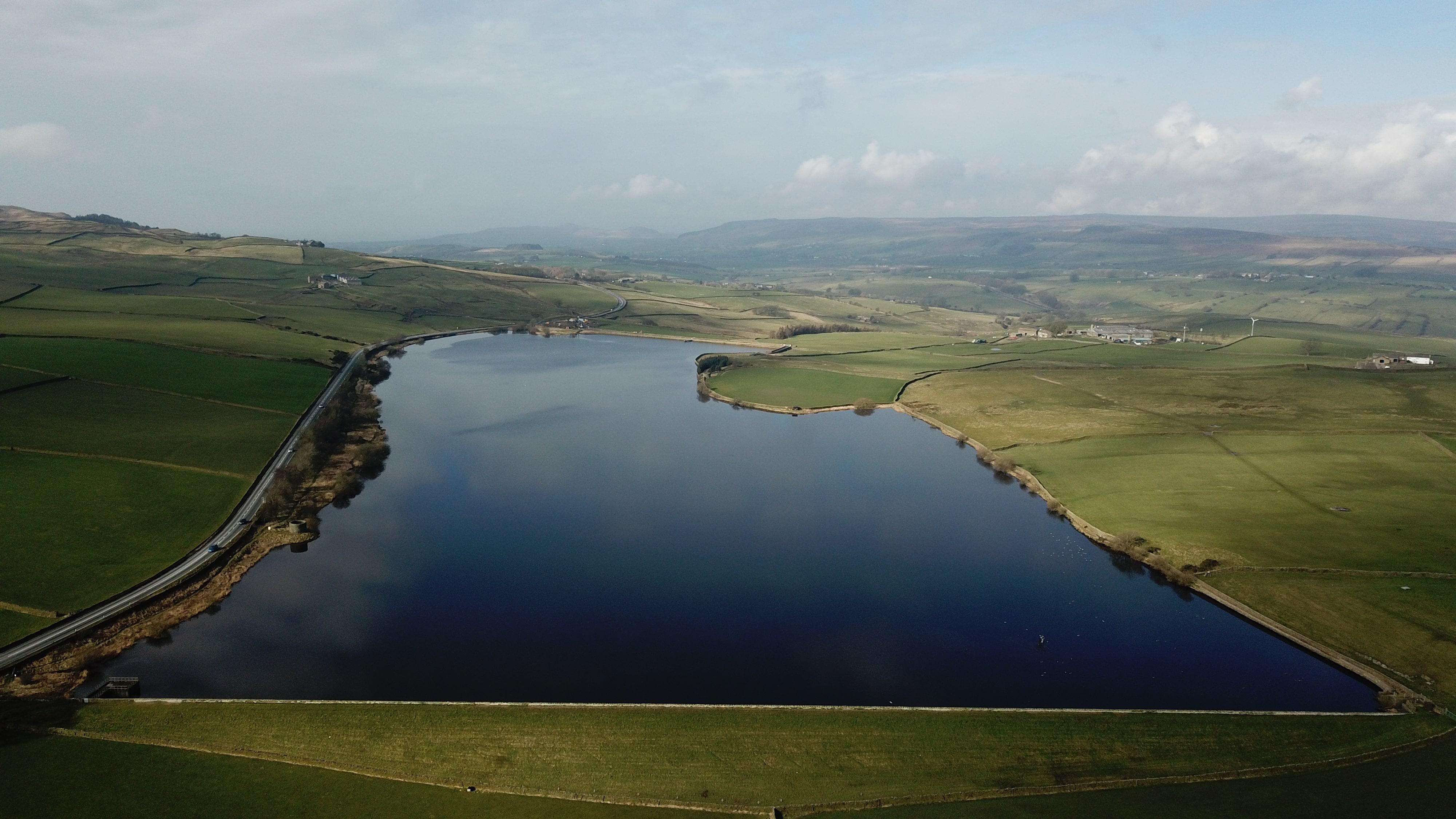 chelker reservoir Near Skipton North Yorkshire.jpg