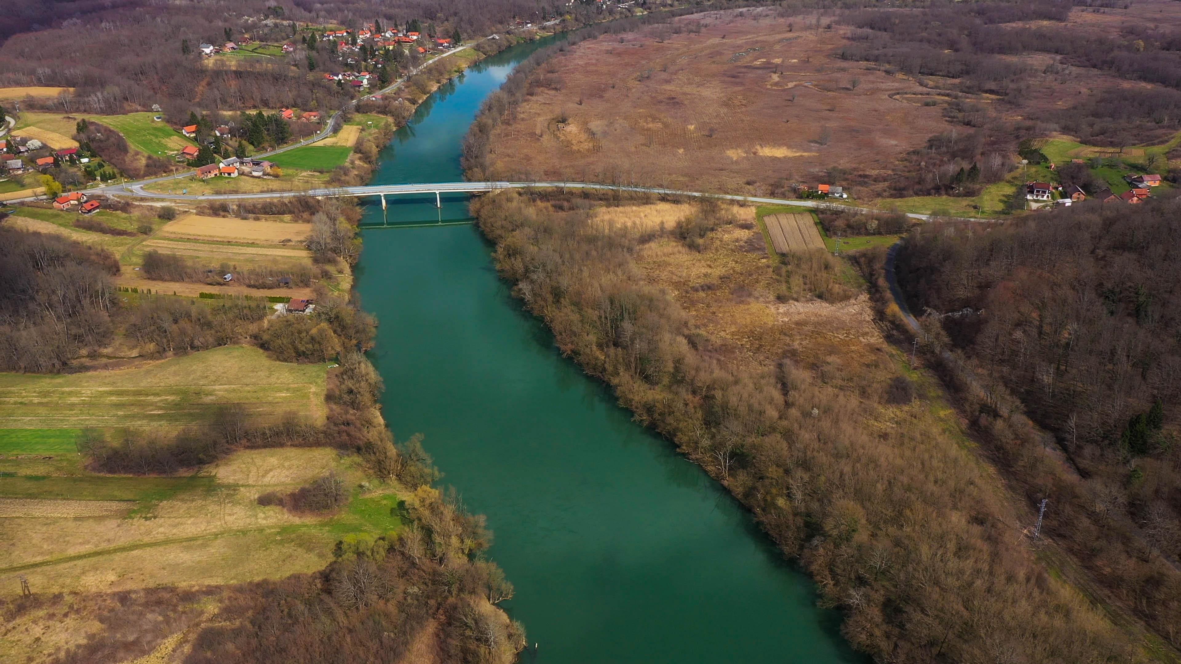 bridge over the Kupa river
