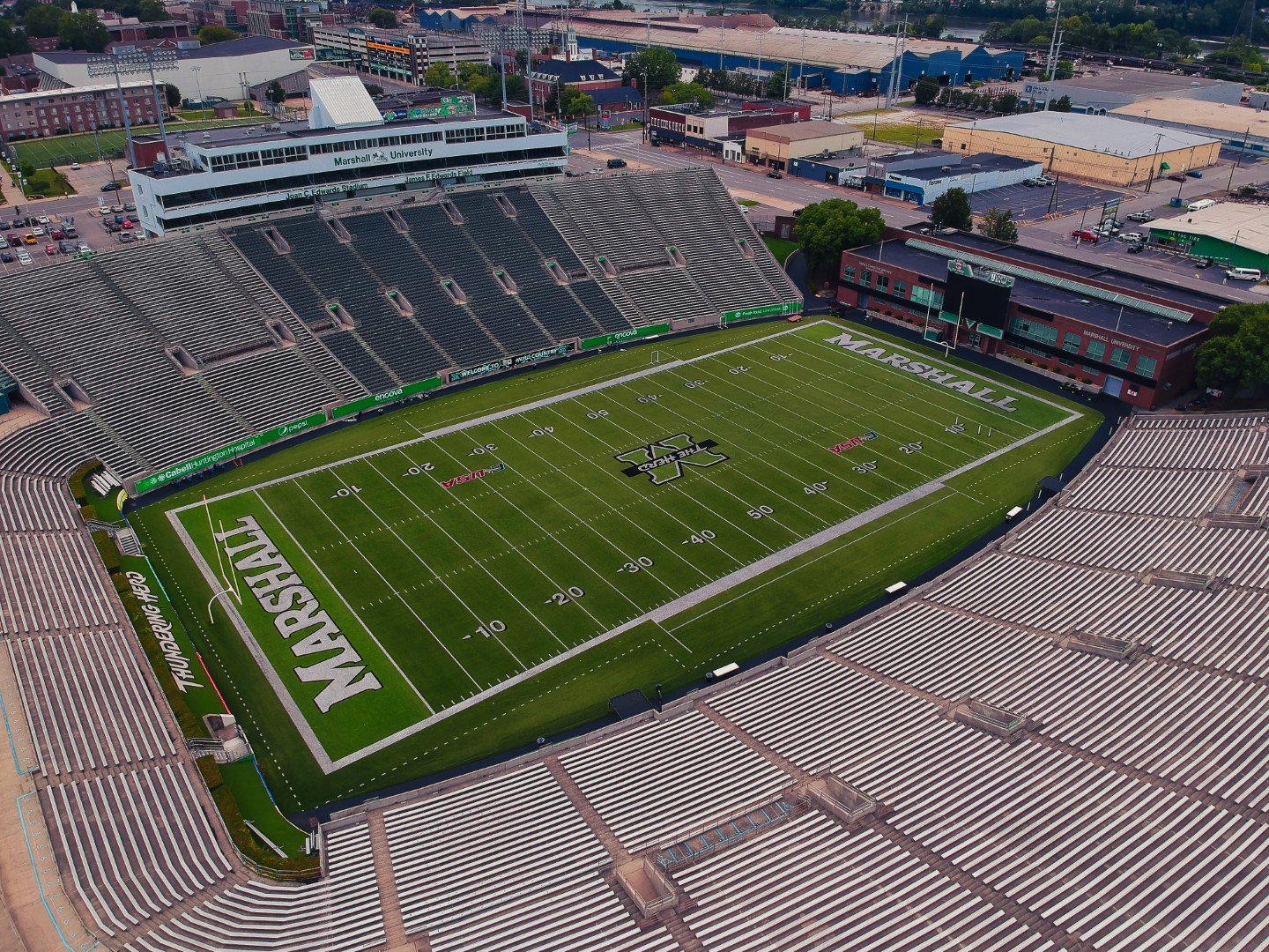 The Thundering Herd playing field