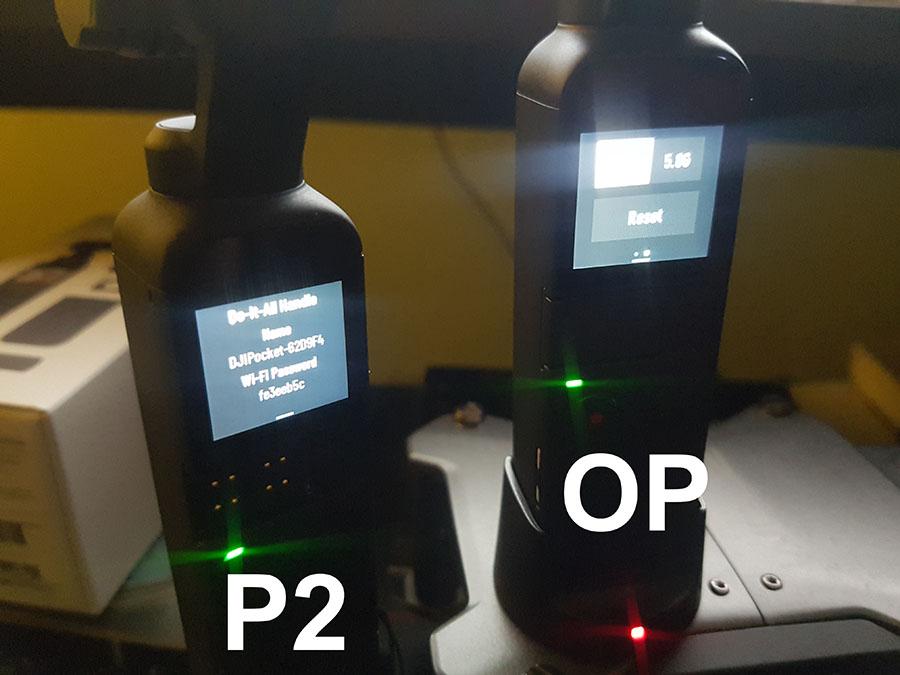 WiFi menu P2 vs OP