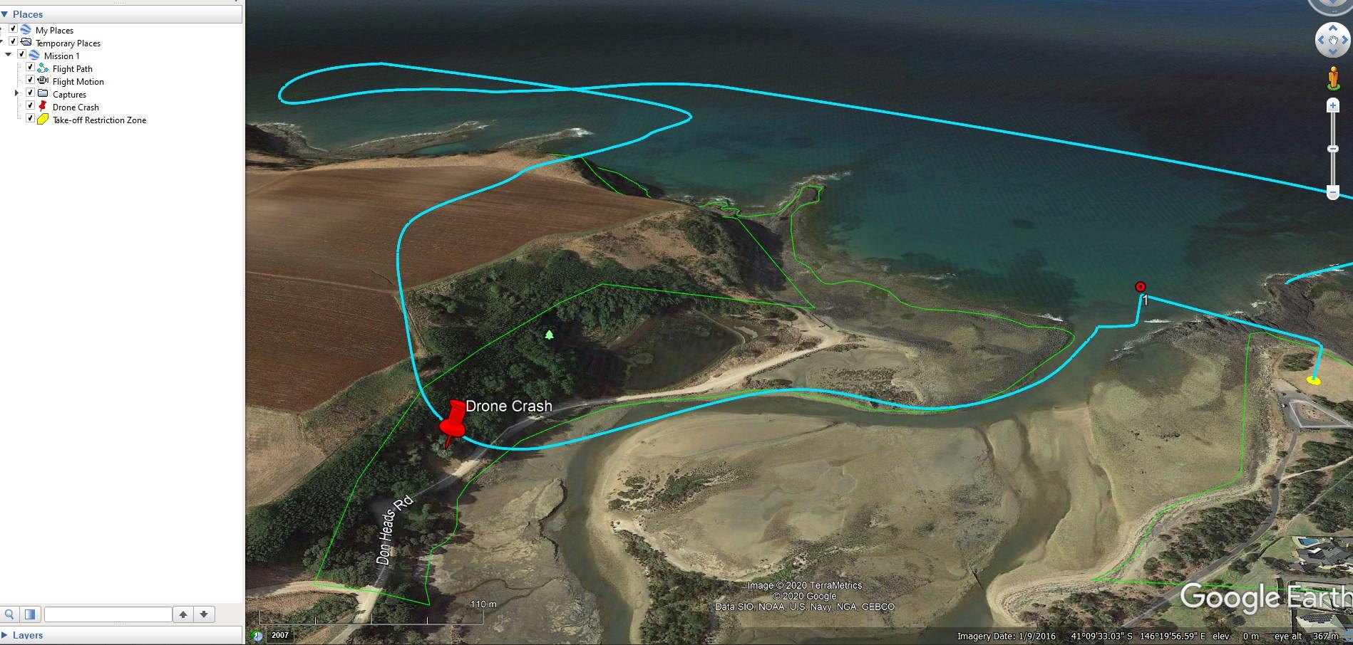 Google Earth KMZ overlay