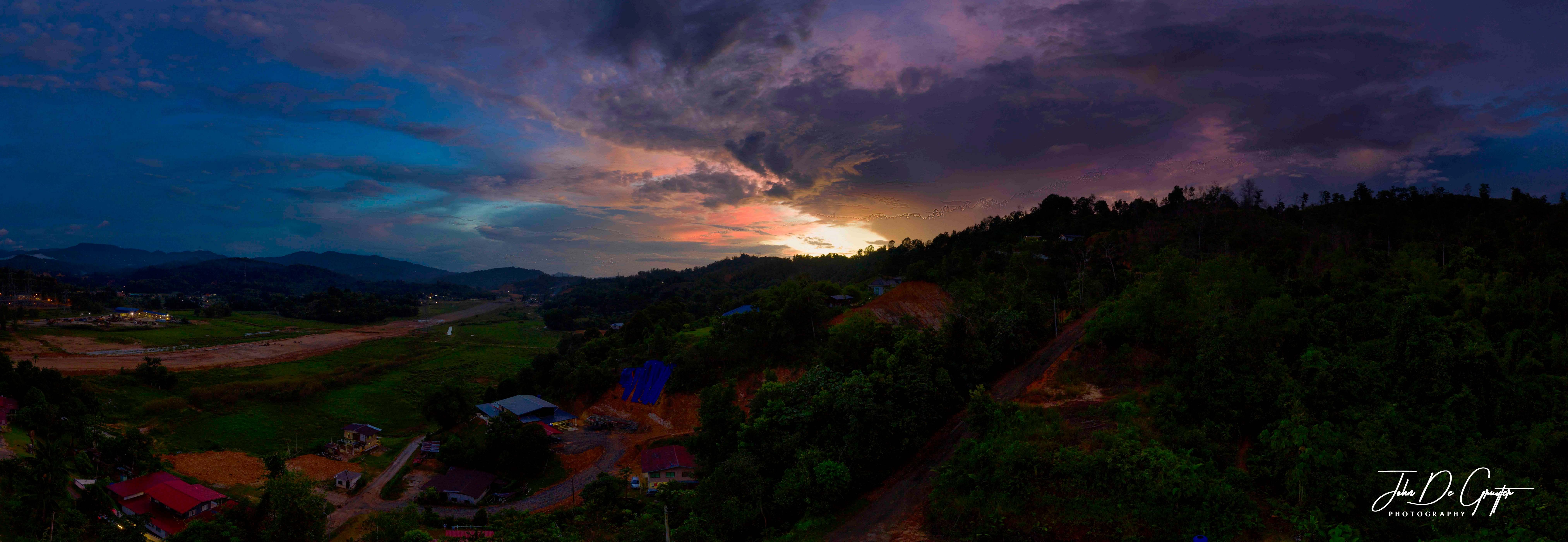 Kolopis, Malaysia, sunset