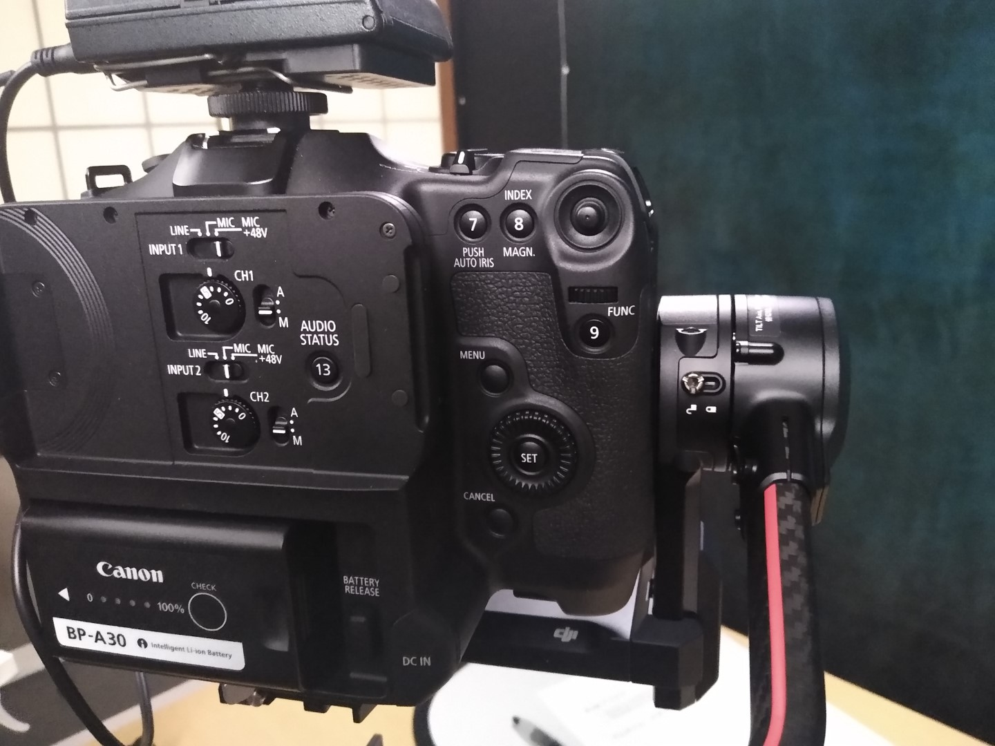 C70 on RS2 with Smallrig baseplate
