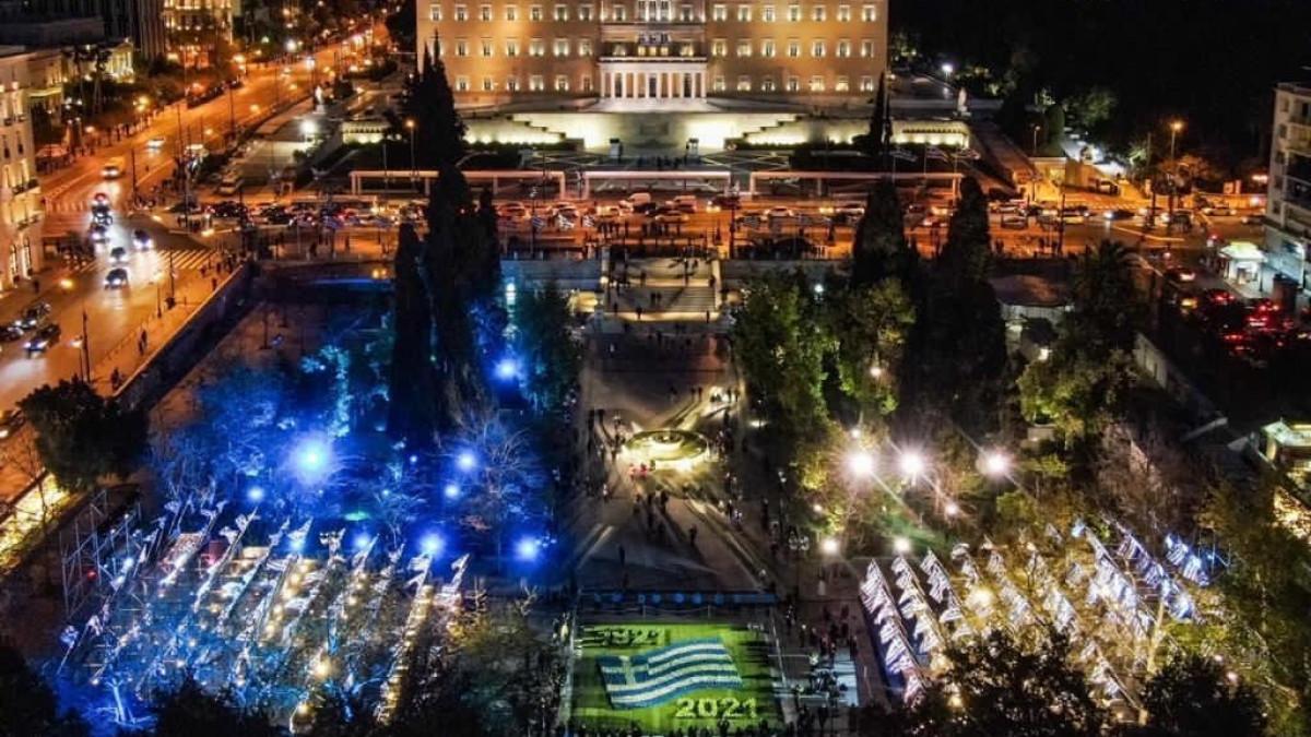 Syntagma night