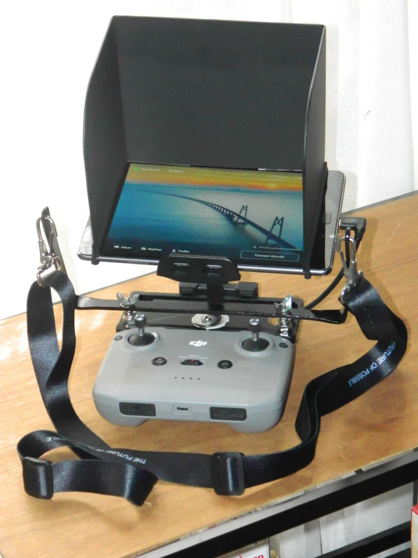 MA2 remote with ASUS tablet and neckstrap.jpg