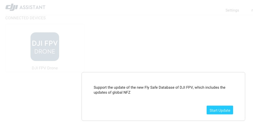 DJI Assistant 2 screen - update Fly Safe Database.jpg